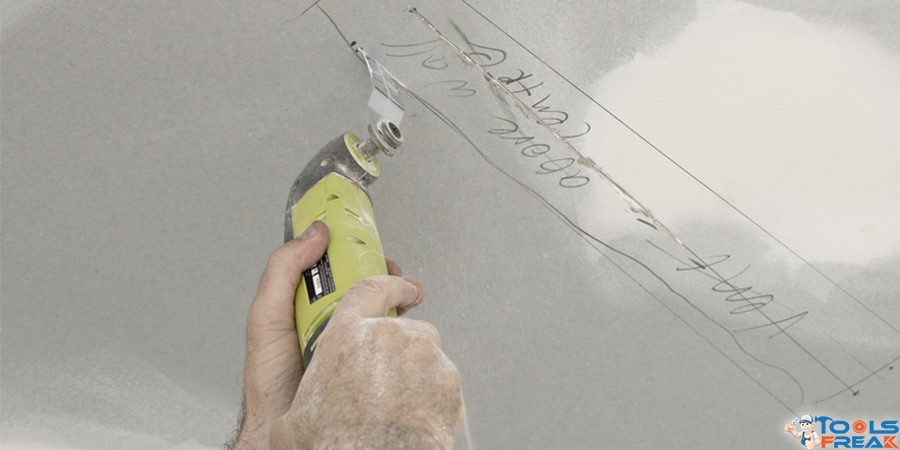 How cut a drywall a square hole a circular hole or any shape